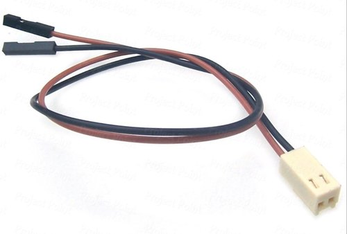 2 Pin Polarized Header Wire  Cable  Unit