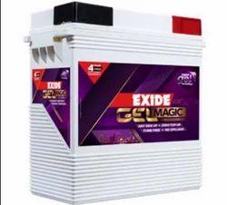 Exide Gelmagic Batteries