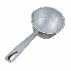 Polished Aluminum Saucepan