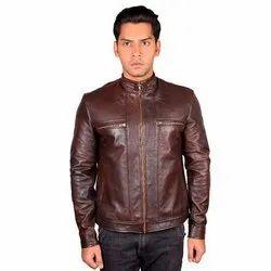 Leather Racing Biker Jacket