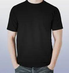Cotton Men Round Neck T Shirt