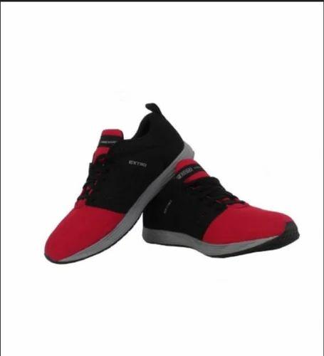 Men SEGA Red Black Sports Running Shoes