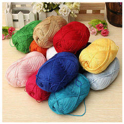 Annapoorna Plain Bamboo Yarn, For Garments, Count: 30