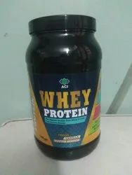 Whey Proteins Concentrate ACI Whey Protein Supplement Powder, Size: 1 Kg, Packaging Type: Plastic Container
