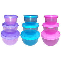 Kotak Sales Pink In Also Available Blue, Green & Yellow Household Plastic Container