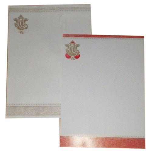 single fold insert kraft paper fancy retirement invitation