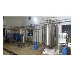 Dairy Milk Pasteurization Plant