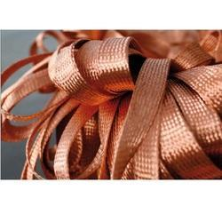 Bare Copper Braid Flat
