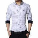Mens Dot Printed Shirt