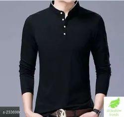 Divine Fashionable Trendy Cotton Mens T-Shirt