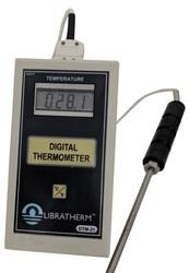 Digital Portable Thermometer with Leaf probe DTM-21
