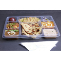 8 Compartment meal tray without lid