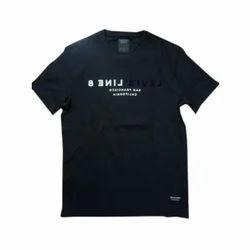 Cotton Printed Mens Round Neck T Shirt