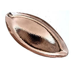 Copper Hammered Oblong Platter