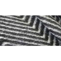 Brushed Herringbone Wool Fabric