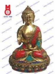 Lord Buddha Asthmangal W/Stone Work