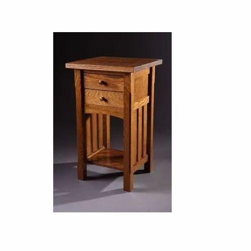 Modern Wooden Bedside Table