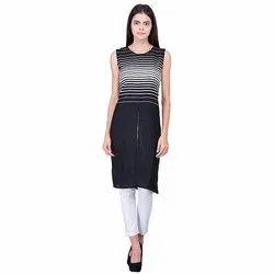 Black & White Long Top