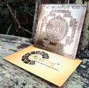 Kaal Bhairav Copper Yantra, Packaging Type: Box