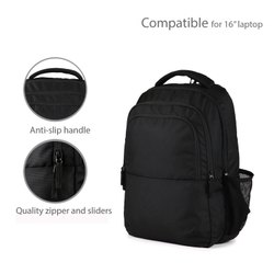 Actra Polyester Travel Backpack, Number Of Compartments: 2, Bag Capacity: 25 Litres