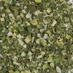 Aayush Food 5-6 Months Dehydrated Green Leek Flake, Packaging Size: 15-20 Kg