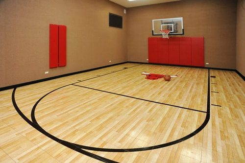 Indoor Basketball Court at Rs 340 /square feet | Basketball Court ...