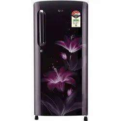 4 Star Electricity LG Single Door Refrigerator, Capacity: 190l