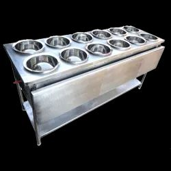 6 Round SS Container Bain Marie
