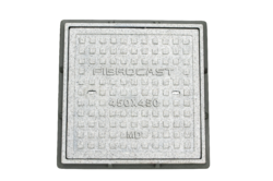 Square Manhole Cover With Frame