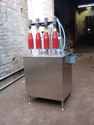 4 Head Piston Filling Machine