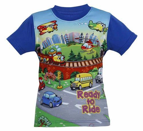 c6d35cd6 Sri Malar Tex Print, Erode - Manufacturer of Digital Print T Shirt ...