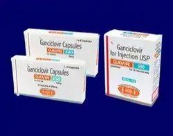 Ganciclovir Capsules, Packaging Size: 1 X 8 Capsules, Packaging Type: Box