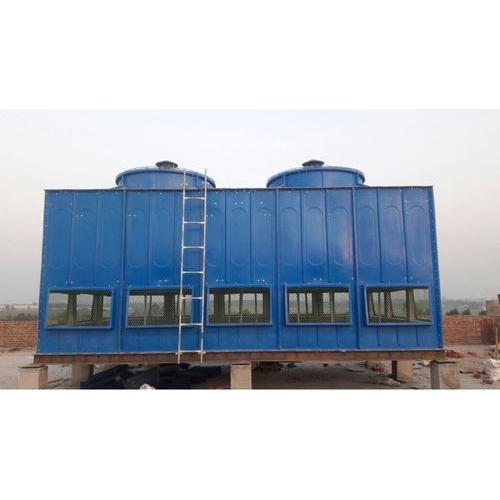FRP Three Phase Rectangular Cooling Tower, 380 V