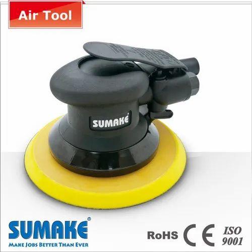 Sumake Non Vacuum Random Orbital Sander W/6'  Hook Pad, Warranty: No
