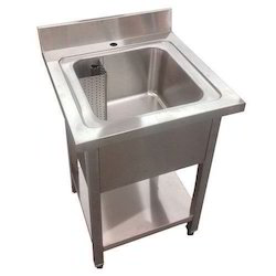 Commercial SS Single Sink