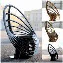 Modern Wooden Outdoor Wood Parametric Chair, For Home, 03 - 04 Feet