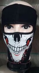 Printed Mask For Riding, Bikers Full Face Mask