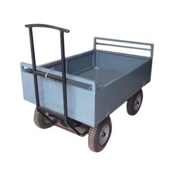 Mild Steel Industrial Material Handling Trolleys