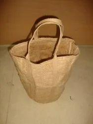 Natural Jute Felt Bag