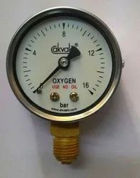 50mm Safety Pressure Gauge oxygen cylinders