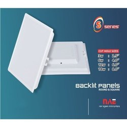 LED Backlit Panel Housing S Series Square