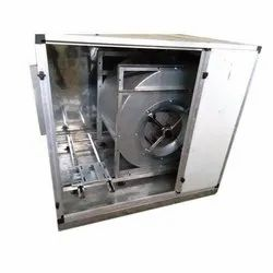 40-65 Mm Didw Foreward Curved Exhaust Air Cabinet Unit, For Industrial