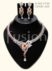 Designer AD Necklace Set