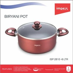 Non Stick Biryani Pot 6 Ltr (ISP 2810)