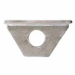 Silver Steel Angle Bracket Machining Service, Packaging Type: Box