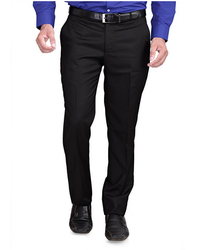RG Designers (Black )Slim Fit Mens Formal Trousers DN10000