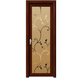 Wood Designer Bathroom Door Rs 2000 piece Royal Fix ID 16707427933