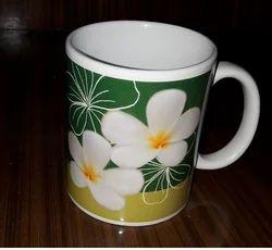 Orchid Sublimation Ceramic Mug