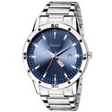 Jainx Day & Date Blue Dial Analog Watch for Men & Boys JM301