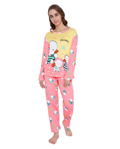 Ladies Yellow And Pink Pajama Sets 2db3e7c9d